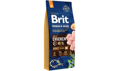 BRIT by Nature med. adult 3kg