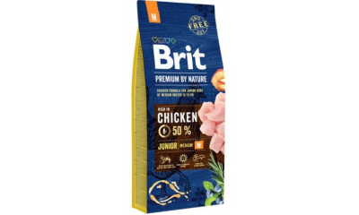 BRIT by Nature medium junior 3 kg