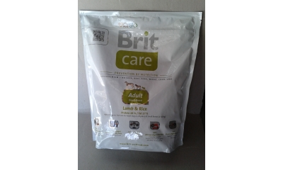 Brit Care adult small bárány-rizs 1kg