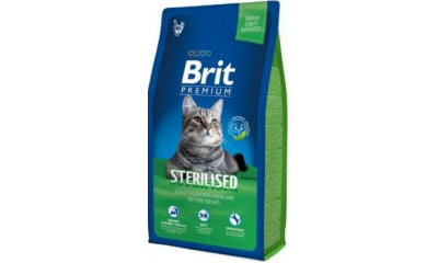 BRIT macska sterilised 8 kg
