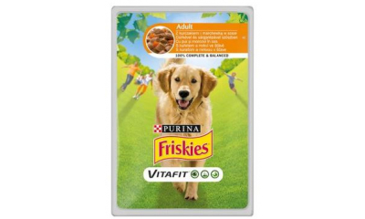 Friskies kutya 100g-os adult