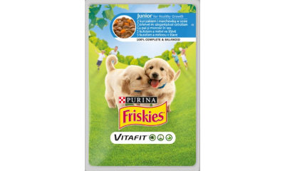Friskies kutya 100g-os junior
