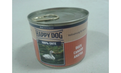 Happy Dog konzerv kacsa 200gr