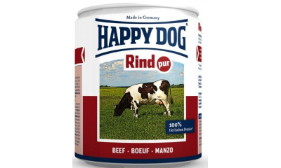 Happy Dog konzerv marha 400gr