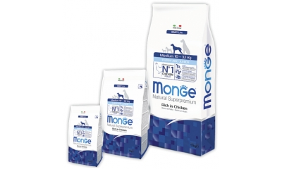 Monge Dog Daily line Medium Puppy&Junior 3kg