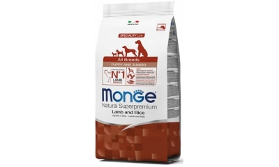 Monge Dog Spec. All Breeds puppy&jun. Lamb 2,5kg