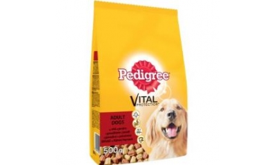 Pedigree 0,5kg adult marhás