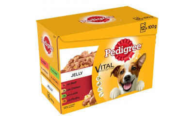 Pedigree 12x100g adult
