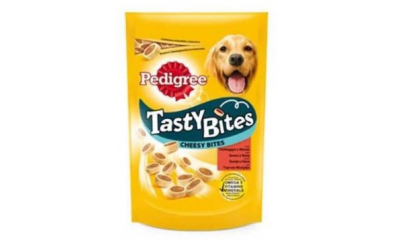 Pedigree Tasty Bites Cheesy 140g