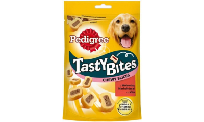Pedigree Tasty Bites Chewy Slices155g